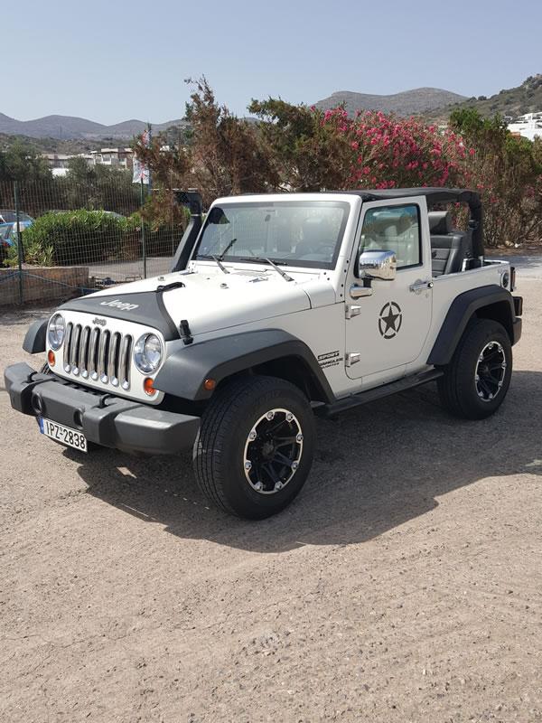 jeep te huur